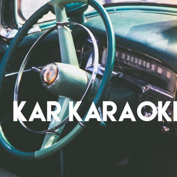 Karaoke, Car singing