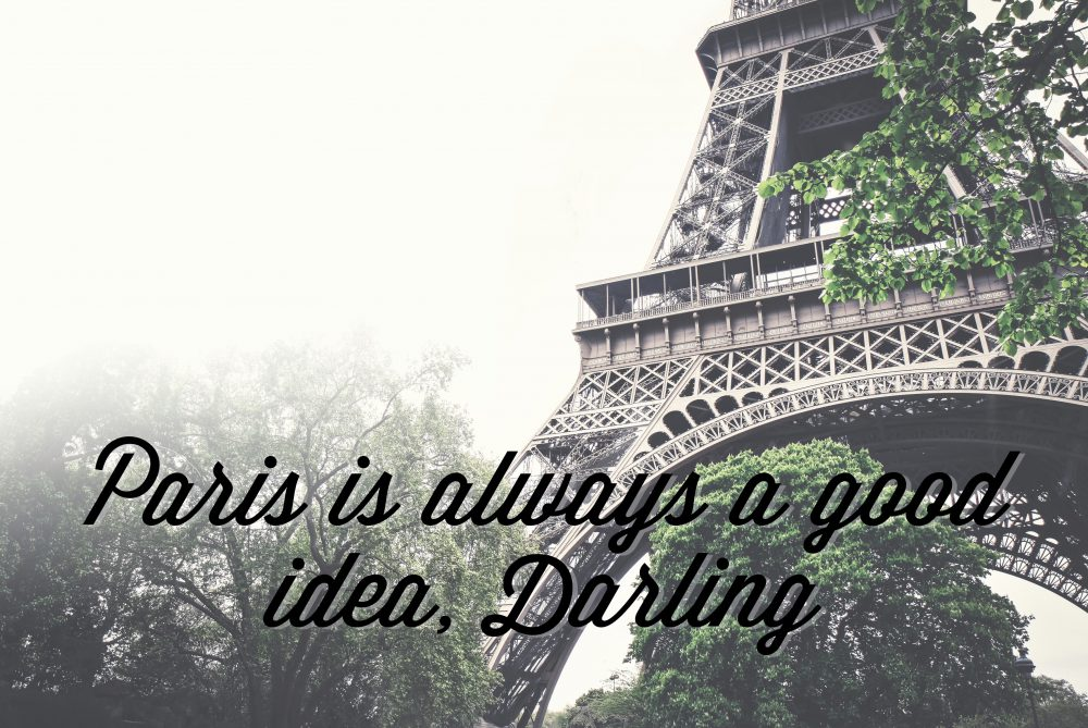 Paris is Always a Good Idea, Darling: A Playlist that is Oh la la!