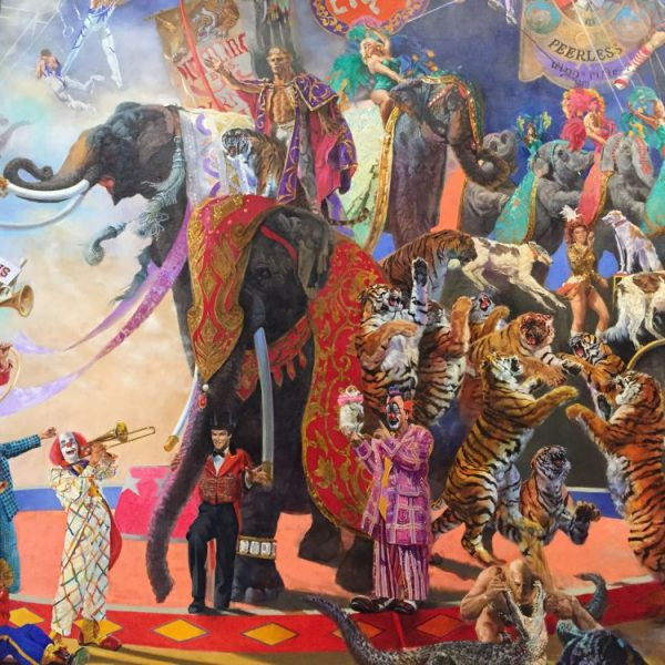 CircaWanderlust, Circa Wanderlust, Circus Museum, The Ringling, John Ringling, Ringling Estate, Sarasota, Ringling Circus, Circus Mural