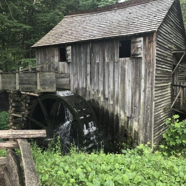 Cades Cove, Mill, Smoky Mountains