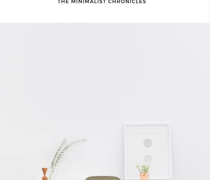 The Minimalism Chronicles – The Downsizing Process (or EVERYTHING MUST GO!)