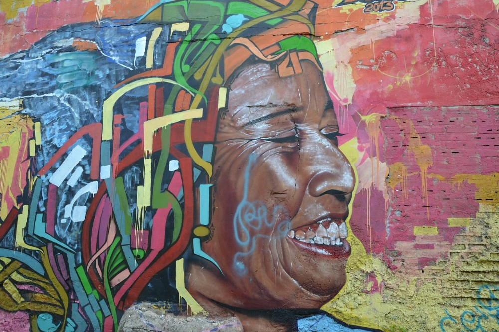 colombia travel, mural, street art