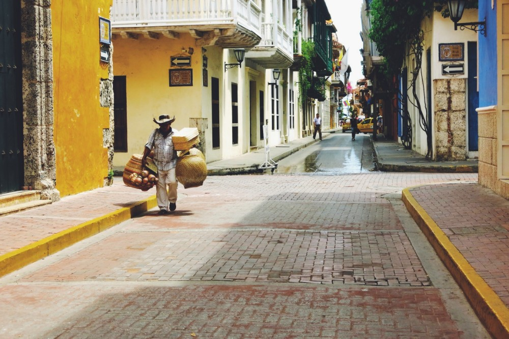 colombia travel, cartagena
