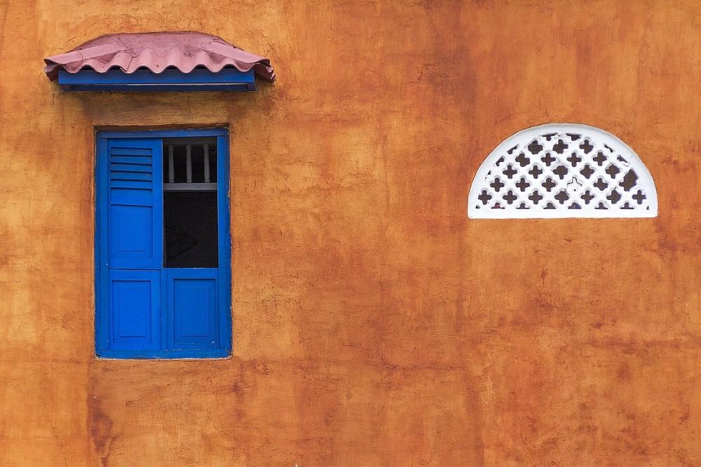 colombia travel, cartagena, pretty building