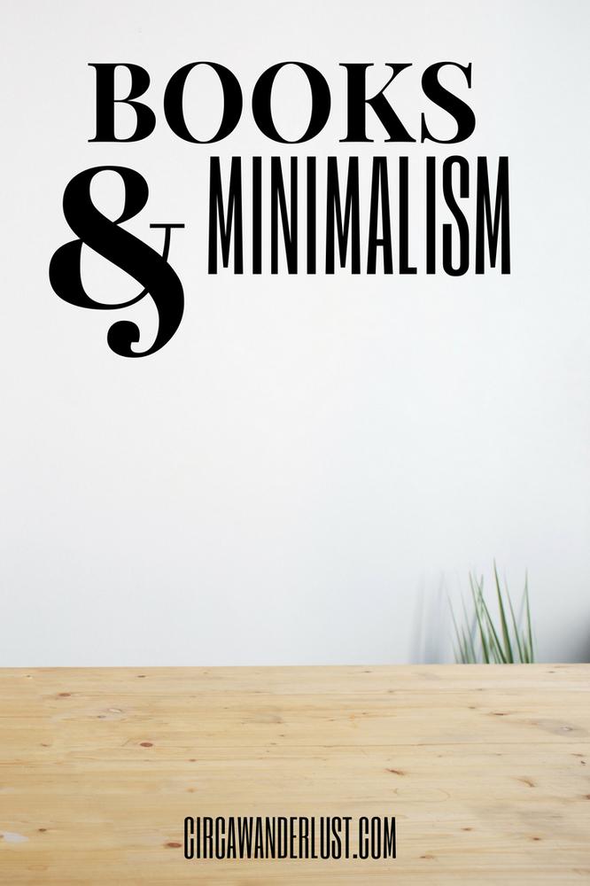 minimalist, books