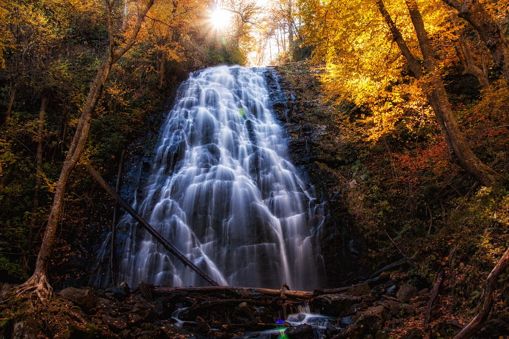 Waterfalls on the Blue Ridge Parkway
