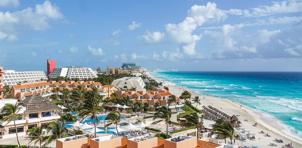 international spring break destinations, cancun