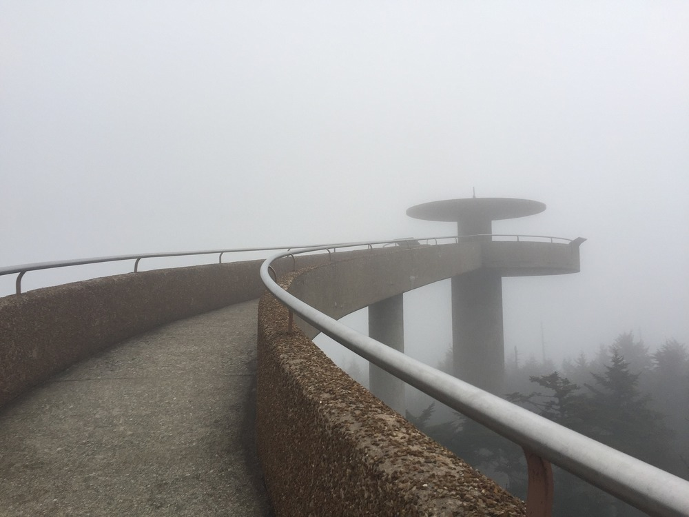 outdoors in Tennessee, clingmans dome