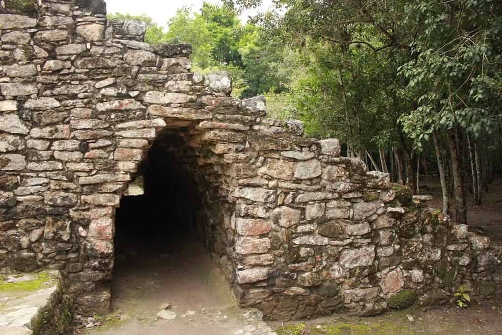 mayan ruins on the yucatan, coba