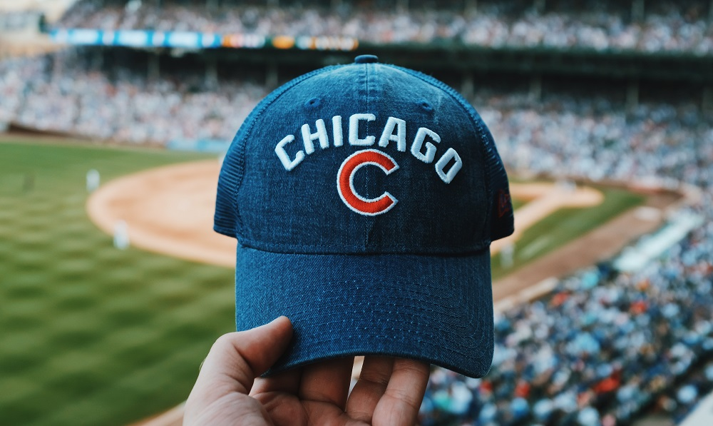 chicago, baseball hat