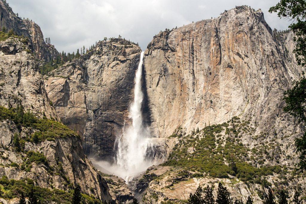 yosemite national park, national park system, yosemite falls