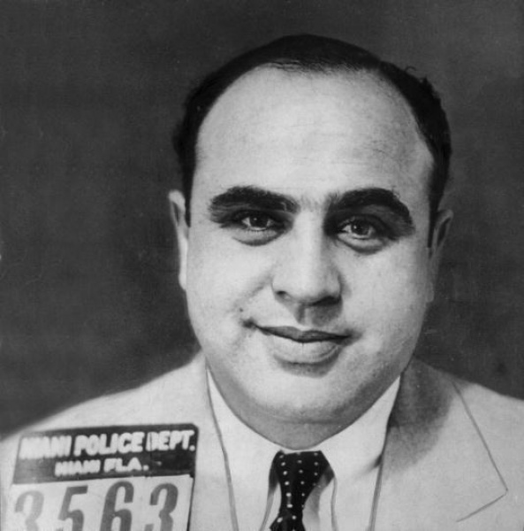 al capone, scar face, mobster