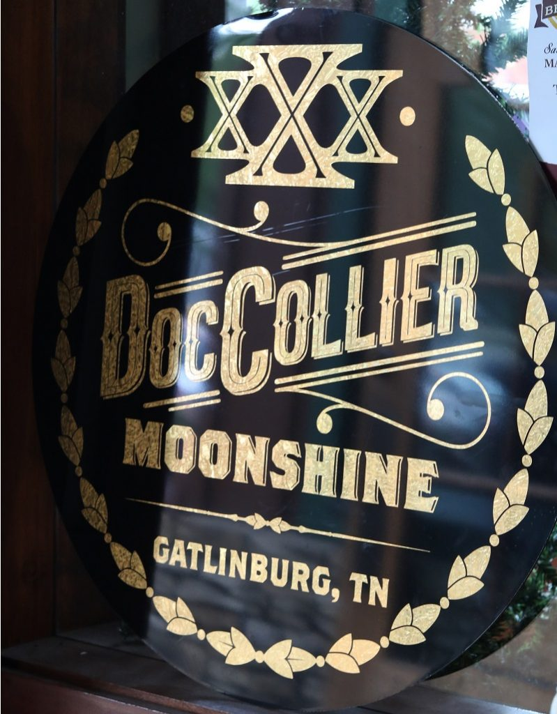 doc collier moonshine, tennessee whiskey, gatilnburg moonshine