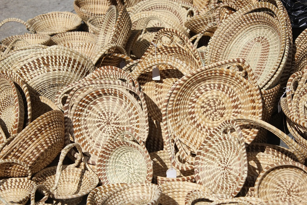 sweet grass baskets, things to do in Charleston